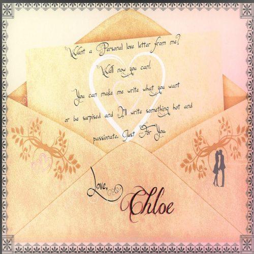 Chloe Love Letters