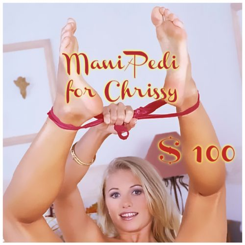 Chrissy Mani-Pedi
