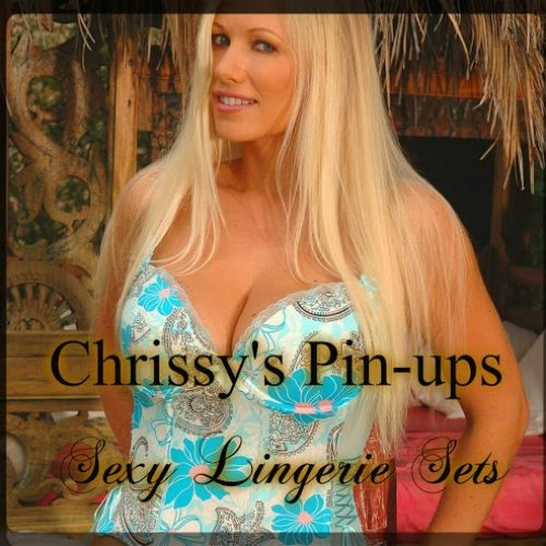 Chrissy Pin-Ups - Sexy Lingerie